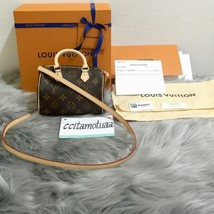Nano speedy Louis Vuitton bag